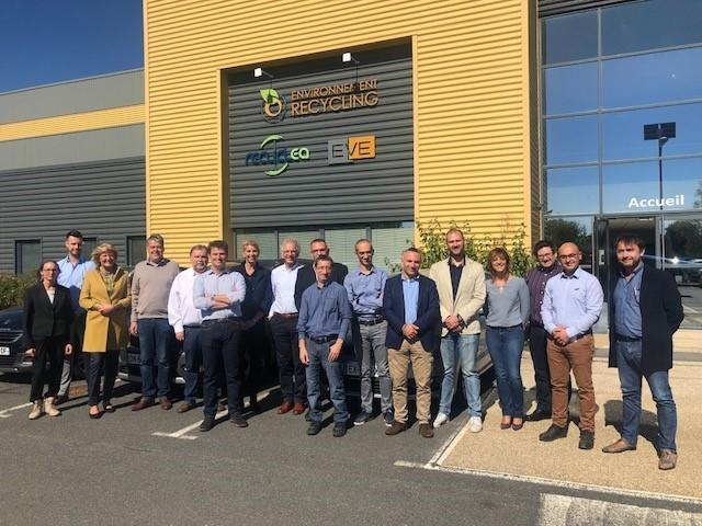 Visite d'Environnement Recycling par EERA